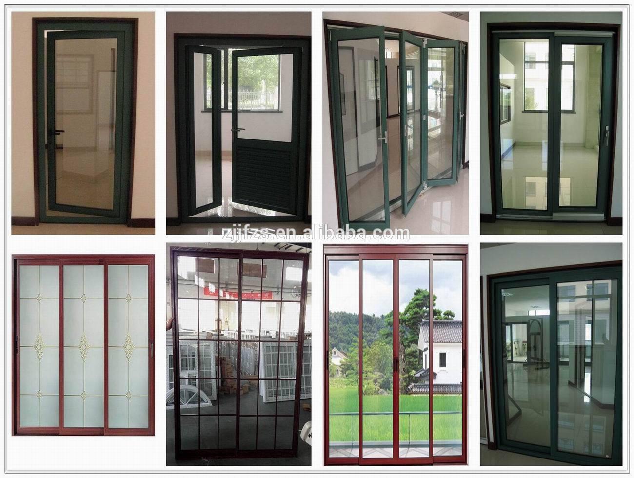 moderna de aluminio puerta corredera exterior puertas para balcones